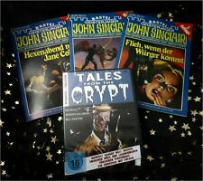 PREISALARM: NEU * TALES FROM THE CRYPT * DVD + 5 JOHN SINCLAIR Romanhefte TOP