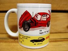 "300ml COFFEE MUG, DINKY TOYS NO.131 JAGUAR ""E"" TYPE 2 + 2"