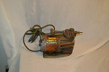 Vtg Hausfeld Cast Iron Heavy Duty Industrial Steampunk electric Air Compressor