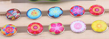 wholesale DIY mix 10pcs 18mm  chunk snap button fit nosa bracelet j3983