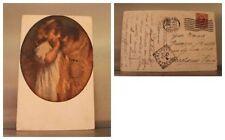 Cartolina 1917 - Tranquillo Cremona: Amor materno - Crespano Veneto