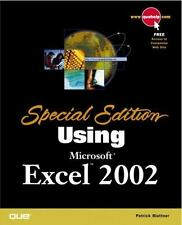 Special Edition Using Microsoft Excel 2002-ExLibrary
