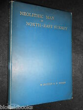 Neolithic Man in North-East Surrey - 1903-1st - Walter Johnson & William Wright
