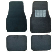 Opel Vauxhall Vectra Universal Cloth Carpet & Heel Pad Car Mats 4pcs Set