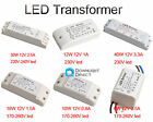 6W/10W/12W/18W/30W/40W 12V LED Driver Power Supply Transformer MR11 MR16 Light