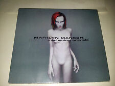 cd musica rock manson marilyn mechanical animals