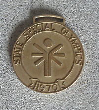 RARE Vintage 1970 State Special Olympics New Jersey Gold Medal