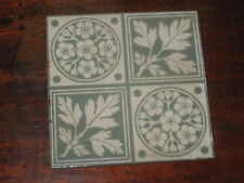 ENGLISH VICTORIAN TILE ARTS & CRAFTS DESIGN