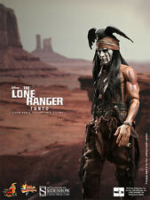 "Hot Toys The Lone Ranger TONTO 12"" Action Figure 1/6 Scale Johnny Depp MMS217"
