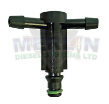 FORD FIESTA 1.6 TDCI BOSCH COMMON RAIL LEAK OFF CONNECTOR T PIECE M003-514