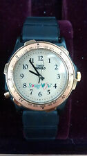 ^ Vintage Timex Indiglo Storage Works Water Resistant Men's Wristwatch