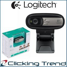 Webcam Logitech C170 USB with MIC Universal Clip VGA-Quality VideoCall 5MP Photo
