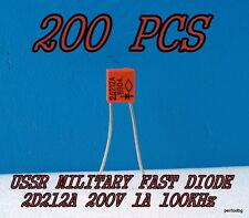 200PCS 2D212A /2Д212А KD212A / 10A 200V 100KHz FAST DIODE USSR MILITARY IN BOX