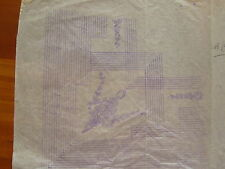 Vintage Embroidery Transfer Reiss Bradley L Shaped Pattern  5941E