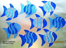 BEA'S GLITTER FISH WINDOW CLINGS MIRROR BATHROOM  TILE DECORATION