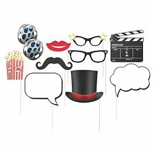 Hollywood Lights Photo Booth Props - Party Supplies