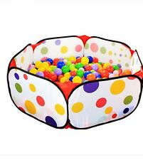 120cm Kids Portable Pit Ball Pool Outdoor Indoor Baby Tent Play Hut Foldable XD