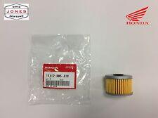 Honda Trx 300 350 400 450 Filtro De Aceite Original 500 1988 - 2016