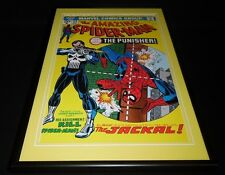 Amazing Spiderman #129 Framed 12x18 Cover Poster Display Official RP Punisher