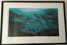 "George Sumner ""Where The Mountains Meet The Sea"" Ltd Edition Lithograph 369/750"