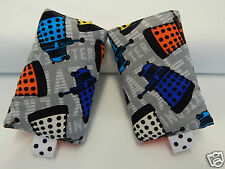 Baby Carrier Dribble Teething Pads Suits Most Carriers  + Ergo  Dr Who - Daleks