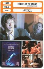 FICHE CINEMA : L'ECHELLE DE JACOB - Robbins,Aiello,Lyne 1990 Jacob's Ladder