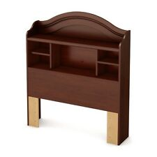 "South Shore Summer Breeze Twin Bookcase Headboard (39""), Royal Cherry"