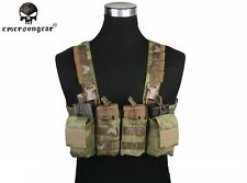 EMERSON Tactical EASY Chest Rig Military Duty Carrier Vest CORDURA AT/FG EM7450C
