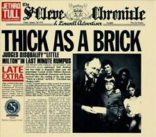 Thick As a Brick Jethro Tull Music-Good Condition