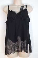 New Vanity Fair Private Collection Camisole L Black 17030