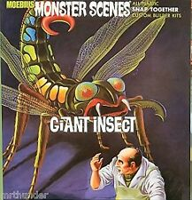 Moebius Giant Insect Plastic Construction Kit 1/13th Scale New Sealed