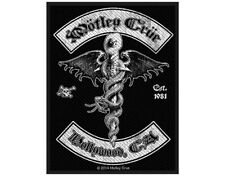 MOTLEY CRUE hollywood 2014 - WOVEN SEW ON PATCH official merchandise