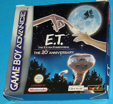 E.T. The Extra-Terrestrial - Game Boy Advance GBA Nintendo - PAL