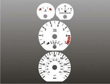 1999-2001 BMW 3 series SEDAN Dash Cluster White Face Gauges E46