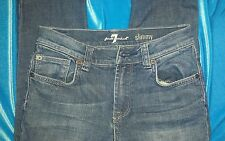 7 For All Mankind Boys Jeans Slimmy Straight Leg 7FCYB374 Size 8 Alabama Dusk