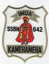 USS Kamehameha  SSBN 642  - 4 Inch Crest BC Patch Cat No C5212