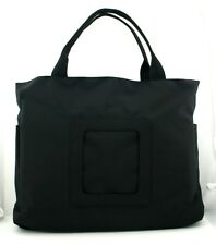 "LEE ""Nylon Computer Bag"" Black Purse for handpainted Needlepoint Canvas Bag 59"