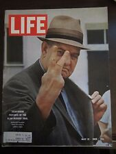 Life Magazine Courtroom Pictures of the Klan Murder Trial KKK May 1965