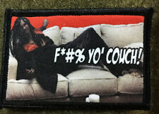 Dave Chappelle Rick James Couch Morale Patch Tactical Milspec Funny