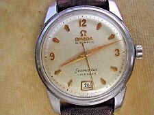 1954 OMEGA BUMPER SEAMASTER CALENDAR GENT'S, 6 O'CLOCK DATE, SERVICED CAL. 355.