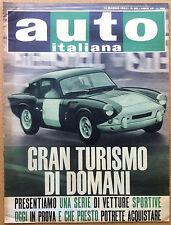 Auto Italiana - 1964 n° 20 - Autovetture Gran Turismo - meccanica corse