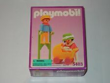 PLAYMOBIL SET #5403 VICTORIAN CHILDREN WITH STILTS NEW IN BOX NIB SEALED