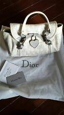 Christian Dior Hand Bag White - Authentic (Used)