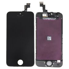 Black Iphone 5S Compatible Front Housing LCD Touch Digitizer Screen for T-Mobile