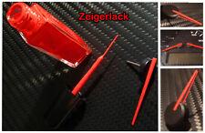 Zeiger Lack Farbe rot für Tachonadel inkl. Mini Pinsel Zeigerfarbe Zeigerlack