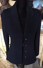 Black St. John Basic by Marie Gray Jacket size 8