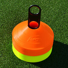 Training Cones [50qty] - ORANGE or MULTI COLUR - Football/Sports Marker Disc
