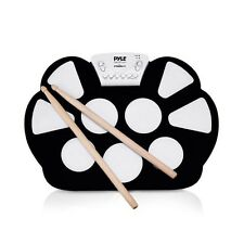 Electronic Drum Kit - Portable Drumming Machine, Compact Quick Setup Roll-Up