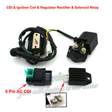 Ignition Coil CDI Solenoid Relay Rectifier Kazuma Meerkat 50cc Falcon 90cc ATV