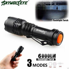 7000LM CREE Q5 AA/14500 3Mode ZOOM LED Super Bright Flashlight MINI Police Torch